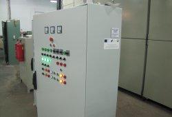 Производствен процес-табло за управление на машина за латексна вата