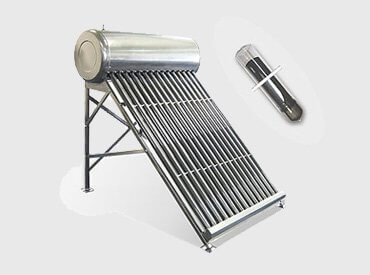 Tермосифонен тръбен слънчев бойлер - Mодел SSA