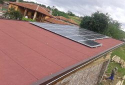 Фотоволтаична централа върху покривс мощност до 30 kW в имот УПИ- II 369 кв.22