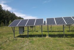 Фотоволтаична централа с мощност 86.4 kW