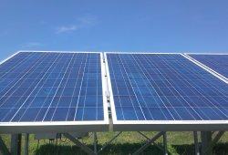 Фотоволтаична централа с мощност 2x30 kW и 1х20 kW